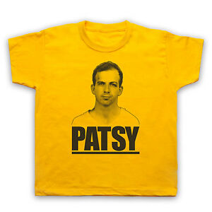 725f1171 LEE HARVEY OSWALD PATSY CONSPIRACY UNOFFICIAL T-SHIRT MENS LADIES KIDS  SIZES JFK