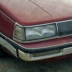 buick electra park avenue 1987 1988 1989 1990 right headlight with bracket ebay ebay