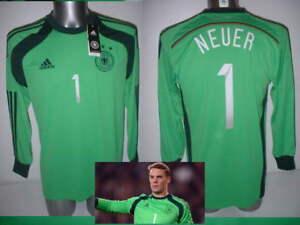 Germany-Neuer-Adidas-M-L-XL-BNWT-New-Shirt-Jersey-Football-Soccer-Trikot-Maglia