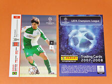 DIEGO BRASIL WERDER BREMEN FOOTBALL CARDS PANINI CHAMPIONS LEAGUE 2007-2008