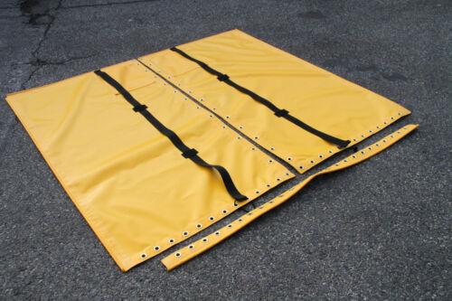 Hobie Cat 14 Standard Yellow Vinyl Trampoline Double Pocket 4 Point Straps