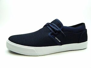 Details about SUPRA CUBA NAVY HEATHER WHITE S92524 MEN SHOES SIZE 10 TO 13