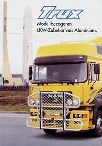 MAN-F2000-M2000-F90-M90-Prospekt-Aluminium-Zubehor-v-Trux-1999-brochure-Katalog