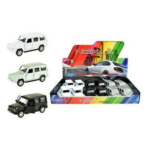 Mercedes-Benz-G-Classe-Voiture-miniature-dans-Aleatoire-Couleur-1-34-LGPL
