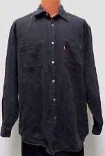 vtg Levi's BLACK JEAN SHIRT SMALL 90s Red-Tab Denim work chore Men S 1998