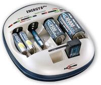 Ansmann Energy 8 Plus Ladegerät Akkuladegerät Prozessor Gesteuert Ohne Akkus