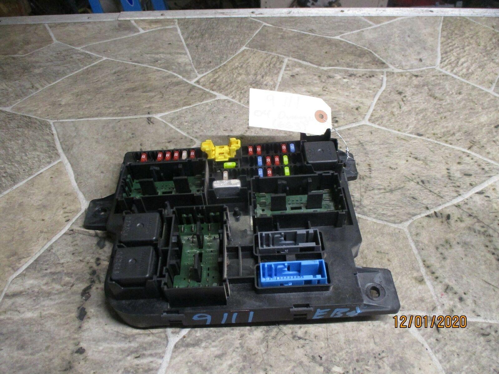 2004 Dodge Durango Cabin Fuse Box Curcuit Block Under Dash 3 7l 4 7l 5 7l Unit For Sale Online