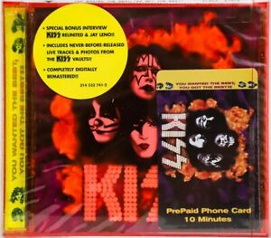 KISS CD - YOU WANTED THE BEST - WITH PHONECARD - USA 1996 - C145401