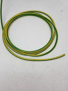 Cavo Filo Unipolare in Silicone FG4 sezione 1,50 mmq Giallo//Verde