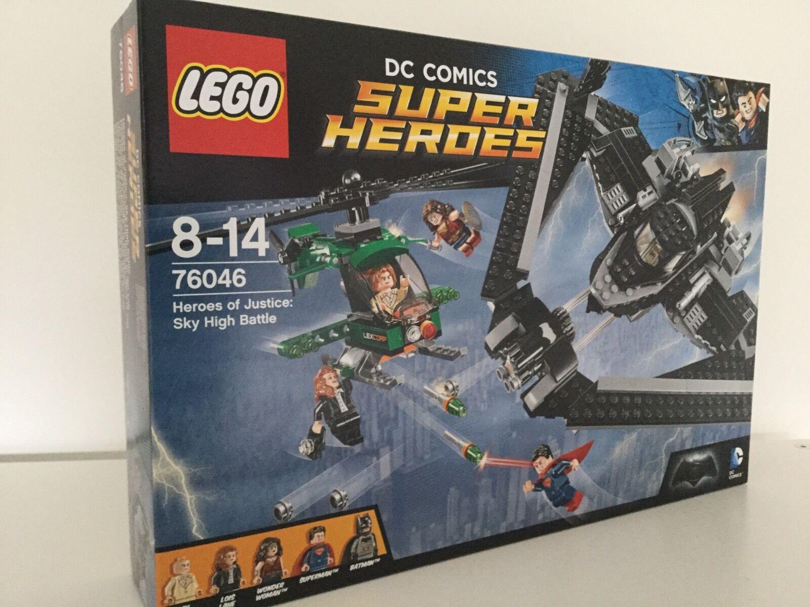 NEW LEGO Super Heroes 76046 Batman Superman Heroes of Justice Sky High Battle