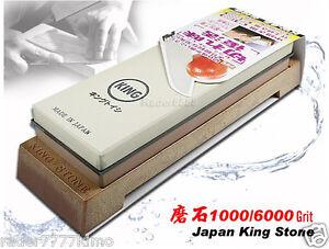 Japanese-King-Whetstone-Waterstone-1000-6000-Grit-Kitchen-Sharpener-Flatware