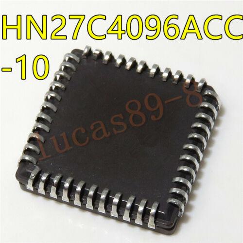 1pcs HN27C4096ACC-10 Hitachi PLCC44 new