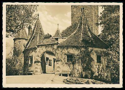 Deutschland Gewissenhaft Ak Rothenburg Ob Der Tauber Alte Ansichtskarte Foto-ak Postcard Cx58