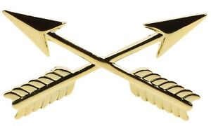 Army-Branch-Insignia-S-F-Crossed-Arrows-Hat-or-Lapel-Pin-HON14555-F3D19G