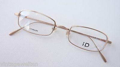 Discreta Titanio Occhiali Oro Occhiali Versione Sottile 48-19 Leggermente Nichel Libero Misura M-mostra Il Titolo Originale