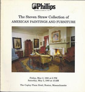 Phillips American Paintings Furniture Straw Coll William Horton Auction Catalog Ebay