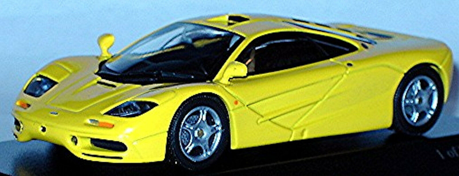 McLaren f1 roadcar 1993-97 jaune jaune 1 43 MINICHAMPS