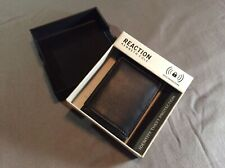 Kenneth Cole Reaction Men's Leather Black RFID Bifold Passcase Wallet