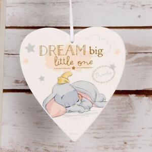 Disney-Heart-Plaque-Dream-Big-Little-One-Baby-Gift-DI399