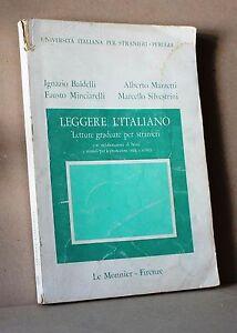 Leggere-l-039-italiano-letture-graduate-per-stranieri-Le-Monnier