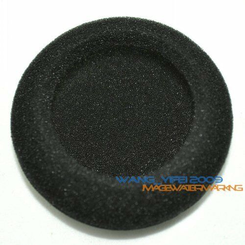 """Thick 10pcs 65mm Cushion Foam Ear Pad Sponge Headphones Headset Cover 6.5cm 2.5/"""""""