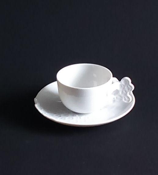 Rosenthal Landscape Blanc - 2 Espresso Tasses avec inférieure-Neuf 1. Choix