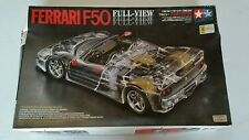 RARE Tamiya Ferrari F50 Full-View 1/24 Model Car Kit 24223*2000 L@@K!