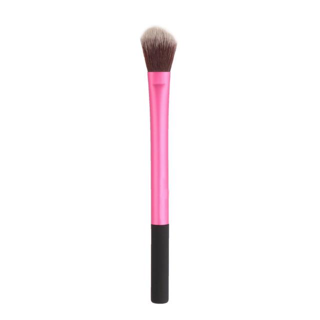 Pro Powder Blush Brush Makeup Foundation Tool Cosmetic Stipple Blending Fiber OE