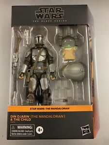 New Ships ASAP Star Wars The Black Series Din Djarin The Mandalorian + The Child