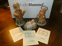 Studio Hummel - Berta - Joseph/Baby Jesus/Mary - Goebel - Nativity - cert/box