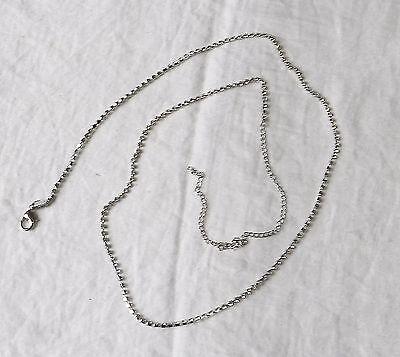 Obbediente * Nuovo Retro Morgan Stretto Diamante Cintura O Collana Bling Festa Estensione Catena-mostra Il Titolo Originale