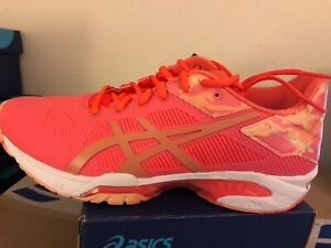 Details about ASICS Women's Gel Solution Speed 3 LE Tennis Shoes Flash Coral Canteloupe Size10