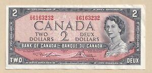1954-2-Bank-of-Canada-Note-Lawson-Bouey-V-G-6163232-EF