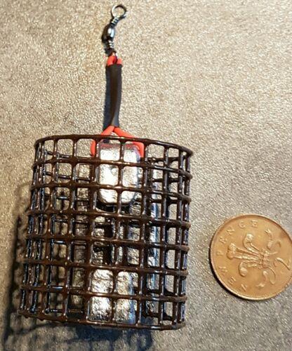 Handmade Barbel Cage Feeders River Trent NEW 40 off 10off each 6oz 5oz 4oz 3oz