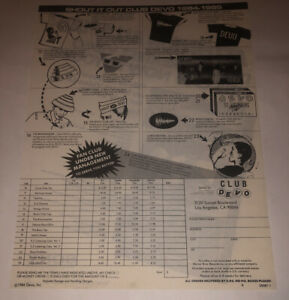 Devo-Shout-It-Out-Club-Devo-Vintage-Order-Form-1984