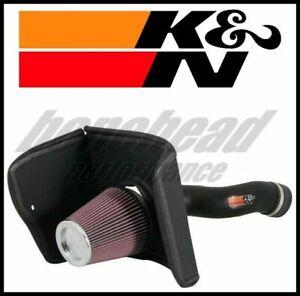 K/&N 63-9031-1 Performance Air Intake System with Black Air Filter Wrap