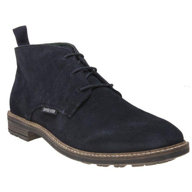 New  Herren Lambretta Blau Blau Blau Dakar Chukka Suede Stiefel Lace Up 4b85a7