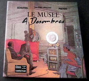 SCHUITEN-PEETERS-LE-MUSEE-DESOMBRES-CASTERMAN-EO-1990-TTBE
