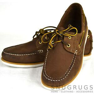 10 Hombre 8 Marrón Zapatos náuticos Tallas 11 EN 9 Cuero WRANGLER wnaCP6qwxH 7 0tp5q
