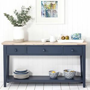 Ordinaire Image Is Loading Florence Navy Blue Console Table Kitchen Hallway Console