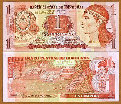 Honduras, 1 Lempira, 2004, Pick 84d, UNC