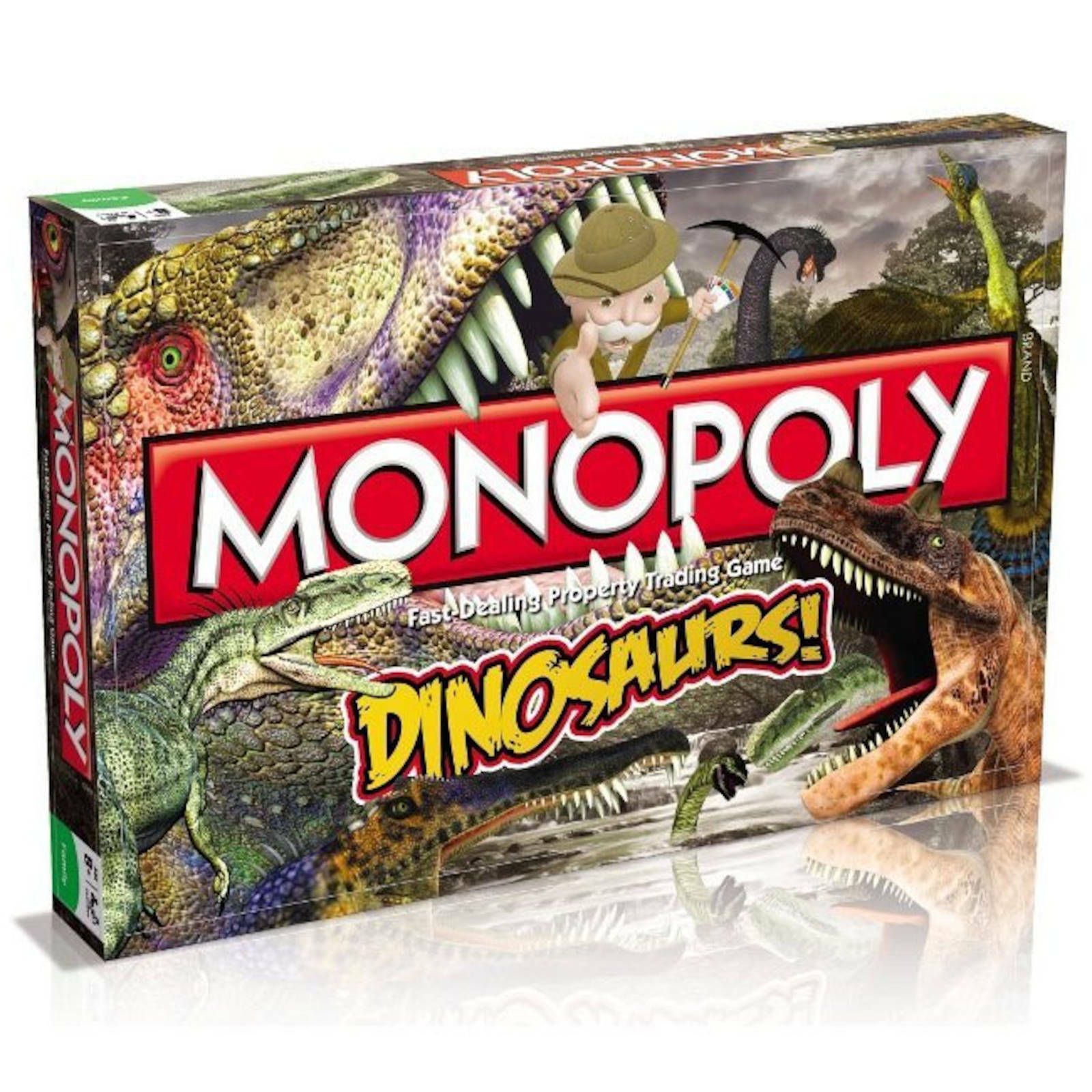 Monopoly Dinosaurs Edition Board Game by Winning Moves