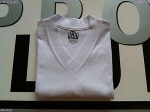 6st Club S Proclub hals Pro v Blank Comfort Nieuw Plain Wit shirt 3xl 6 T Lq5j4Sc3AR