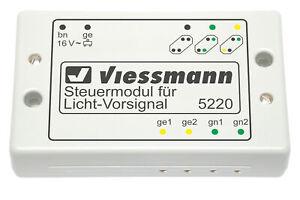 Viessmann-5220-Modulo-de-Control-Para-Senal-Luminosa-Nuevo