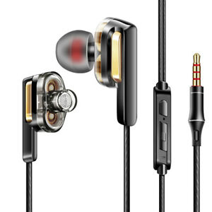 HIFI-Earphone-Dual-Dynamic-Driver-Headphone-Super-Bass-Stereo-Headset-With-Mic