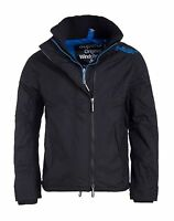 Superdry Mens Technical Pop Zip Windcheater Thick Winter Coat Jacket Thick Winte