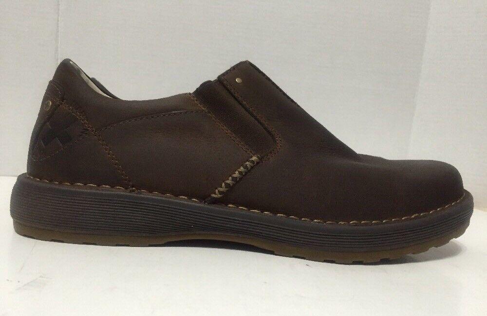 Dr Martens Jarvis Casual Mocassins Chaussures à enfiler en cuir marron pour HOMME taille 13