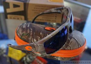 c77afad7a3 Costa DelMar Fantail Realtree X-tra Camo Orange Frame Blue Mirror ...