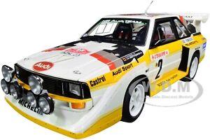AUTOart Audi Quattro S1 Rally Monte Carlo 1986 #2 1:18 Model Car 88601