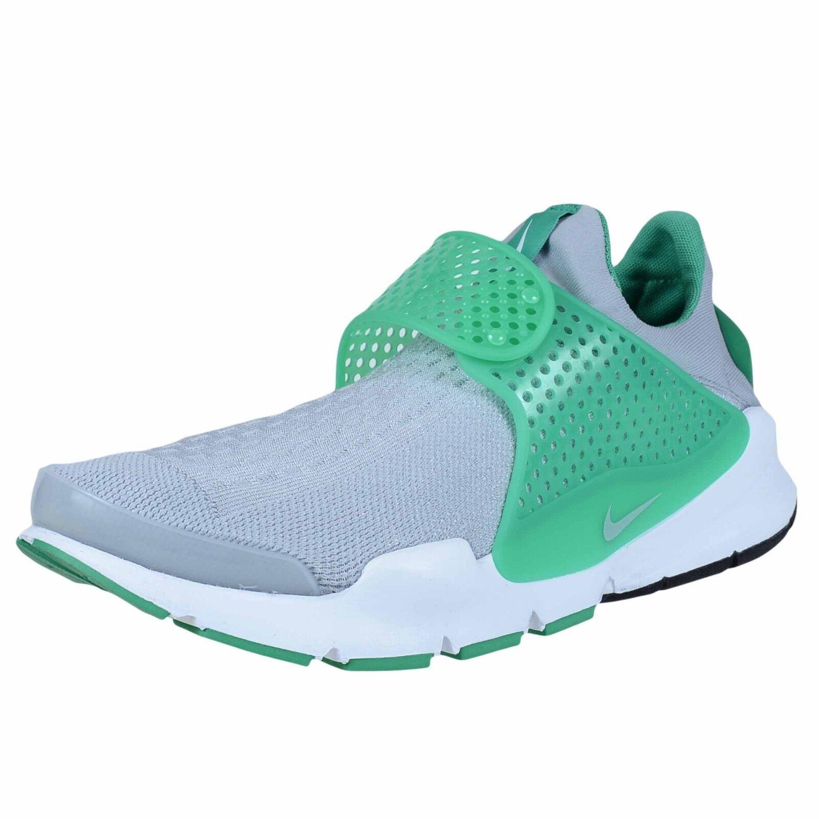 Nike sock dardo kjcrd lupo grigio / lupo grigio delle scarpe casual 819686 004